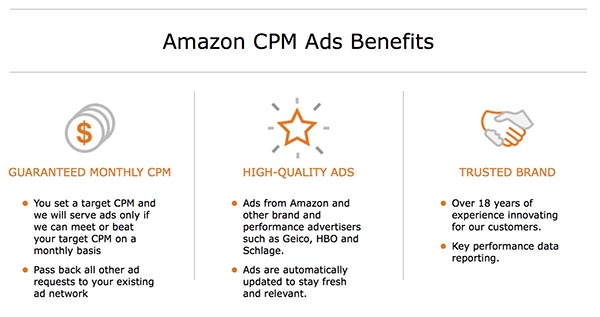 Amazon CPM Advertising