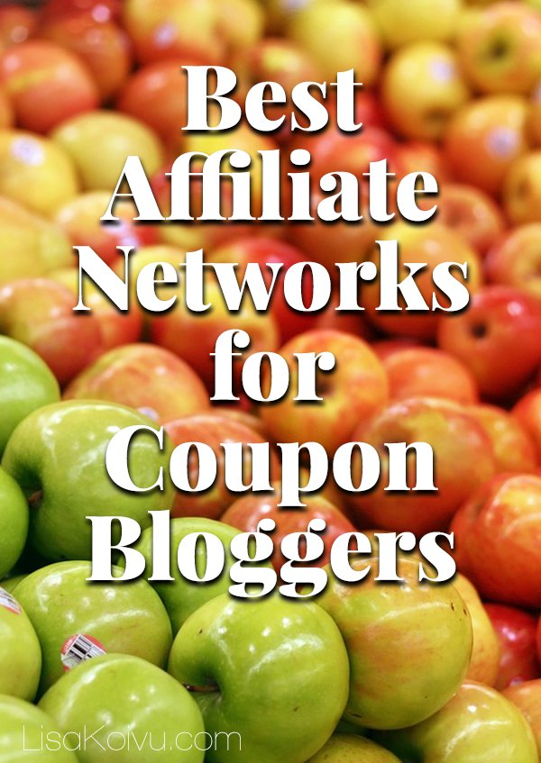Best Affiliate Networks for Coupon Bloggers | LisaKoivu.com